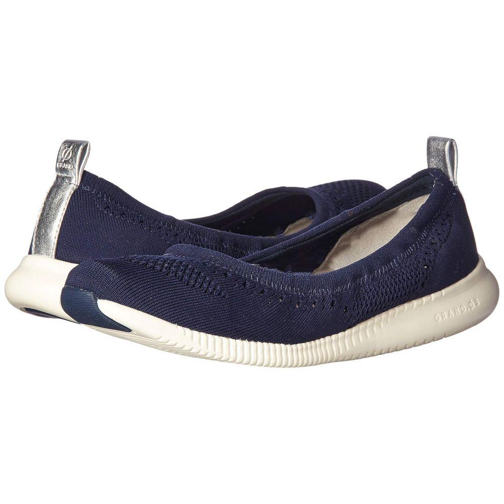 コールハーン Cole Haan レディース シューズ・靴 スリッポン・フラット【2.Zerogrand Stitchlite Ballet】Marine Blue Knit