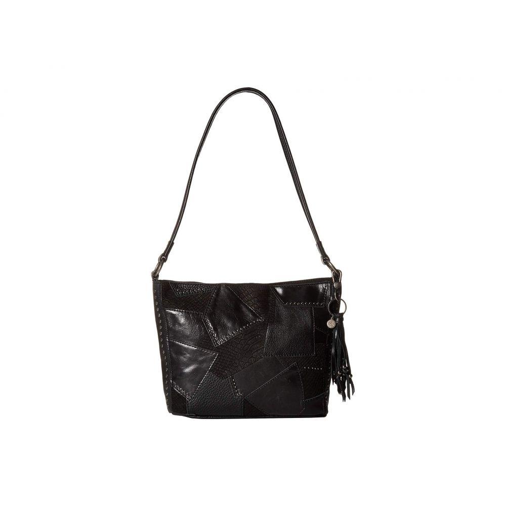 ザ サク The Sak レディース バッグ ショルダーバッグ【Indio Leather Demi】Black Multi Patch