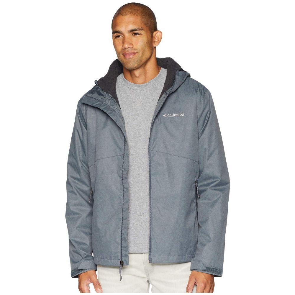 コロンビア Columbia メンズ アウター レインコート【Rainie Falls(TM) Jacket】Graphite/Stone Sherpa