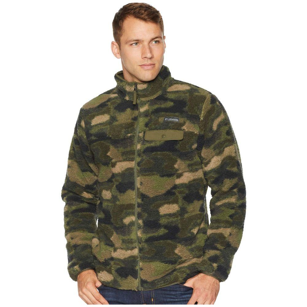 コロンビア Columbia メンズ トップス フリース【Mountain Side(TM) Heavyweight Fleece Full Zip】Peatmoss Camo