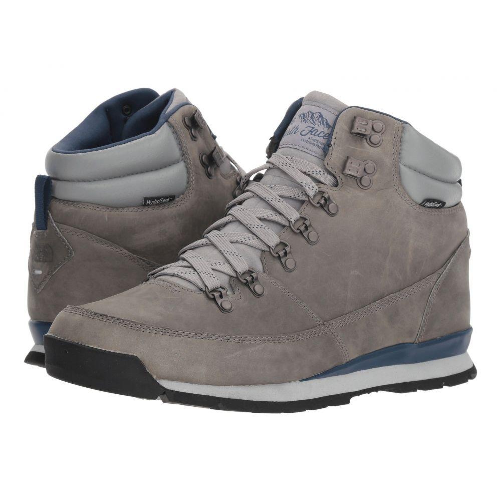 ザ ノースフェイス The North Face メンズ ハイキング・登山 シューズ・靴【Back-To-Berkeley Redux Leather】Griffin Grey/Shady Blue