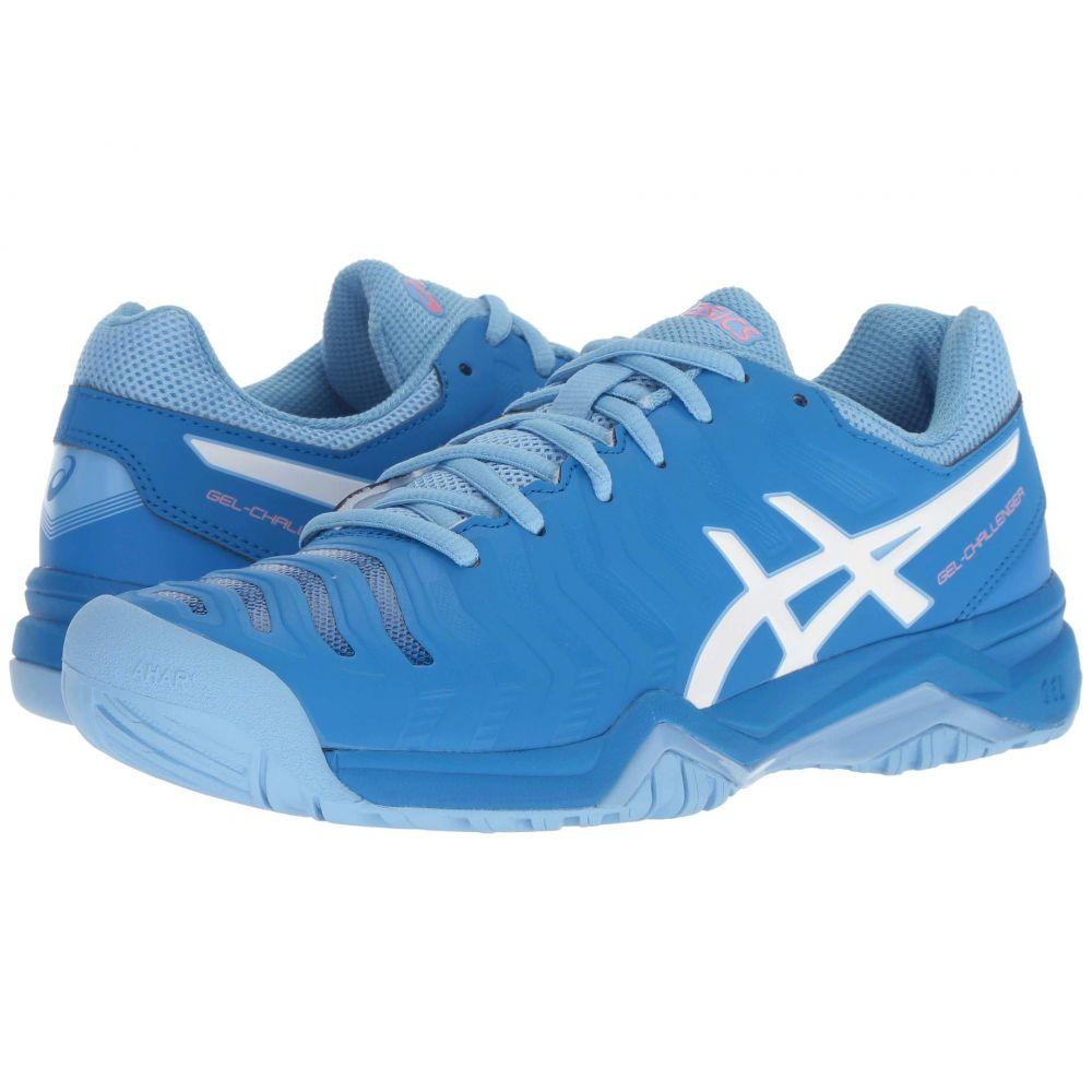 アシックス ASICS レディース テニス シューズ・靴【Gel-Challenger 11】Electric Blue/White