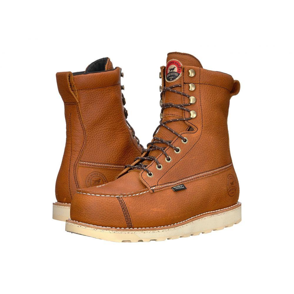 アイリッシュ セッター Irish Setter メンズ ハイキング・登山 シューズ・靴【Wingshooter Safety Toe 83832】Brown