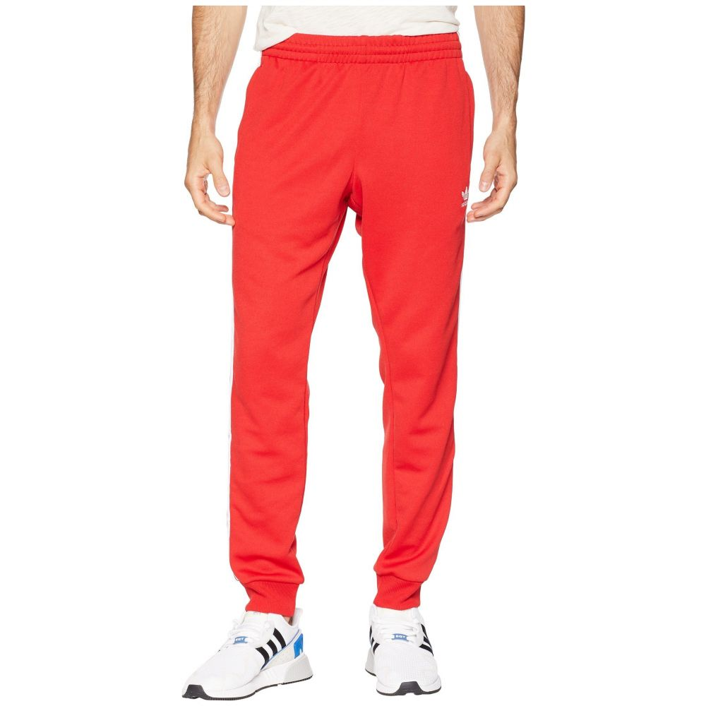 アディダス adidas Originals メンズ ボトムス・パンツ スウェット・ジャージ【SST Track Pants】Collegiate Red