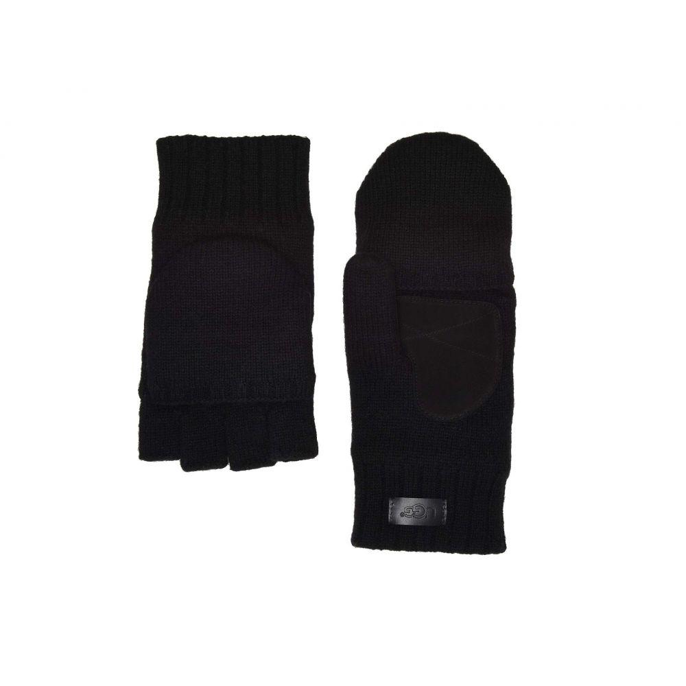 アグ UGG メンズ 手袋・グローブ【Flip Knit Mitten】Black