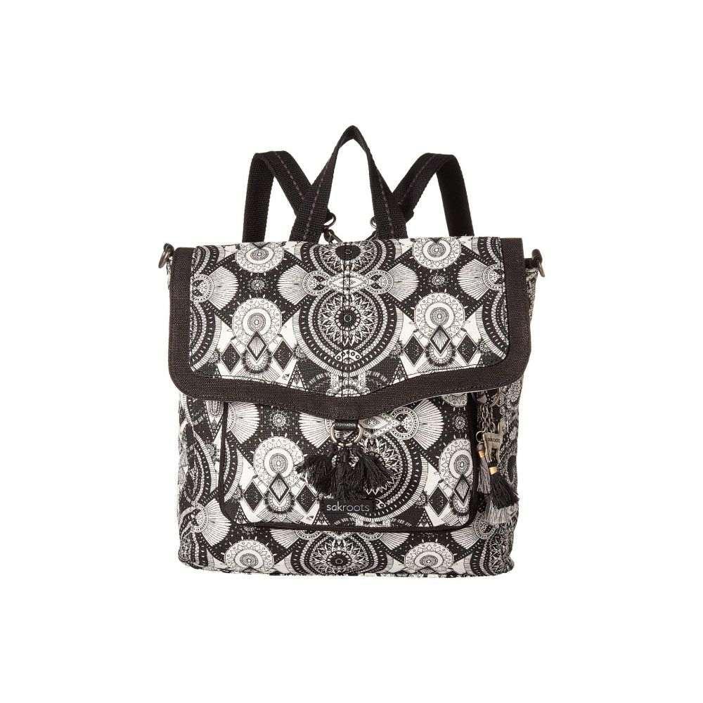 サックルーツ Sakroots レディース バッグ バックパック・リュック【Colette Convertible Backpack】Black/White Wanderlust