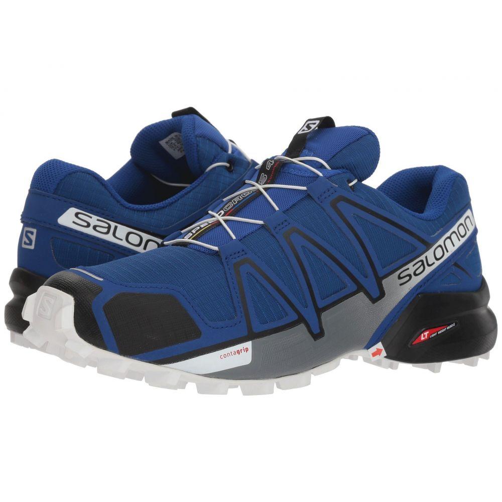 サロモン Salomon メンズ ランニング・ウォーキング シューズ・靴【Speedcross 4】Mazarine Blue Wil/Black/White