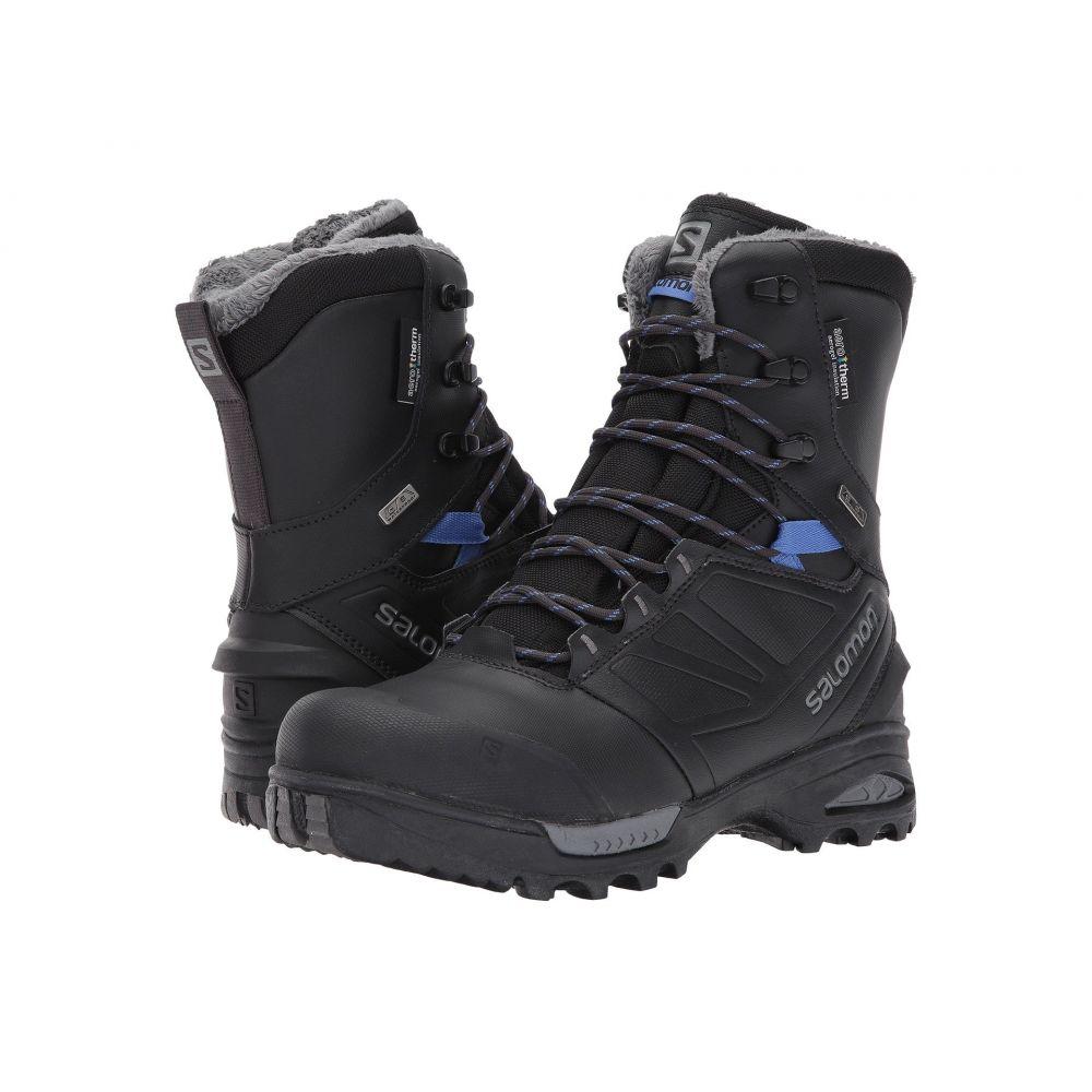 サロモン Salomon レディース ハイキング・登山 シューズ・靴【Toundra PRO CS WP】Phantom/Black/Amparo Blue