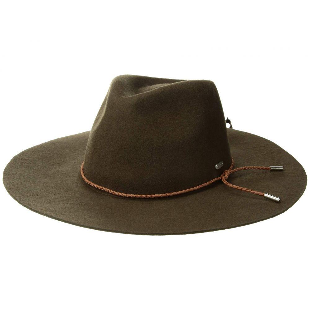 サンディエゴハット San Diego Hat Company レディース 帽子 ハット【WFH8047 Floppy Fedora with Braided Trim】Brown