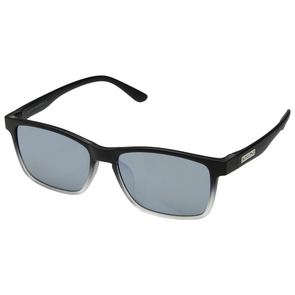 サンクラウド SunCloud Polarized Optics メンズ メガネ・サングラス【Dexter】Black Crystal Fade/Polarized Silver Mirror Polycarbonate Lens