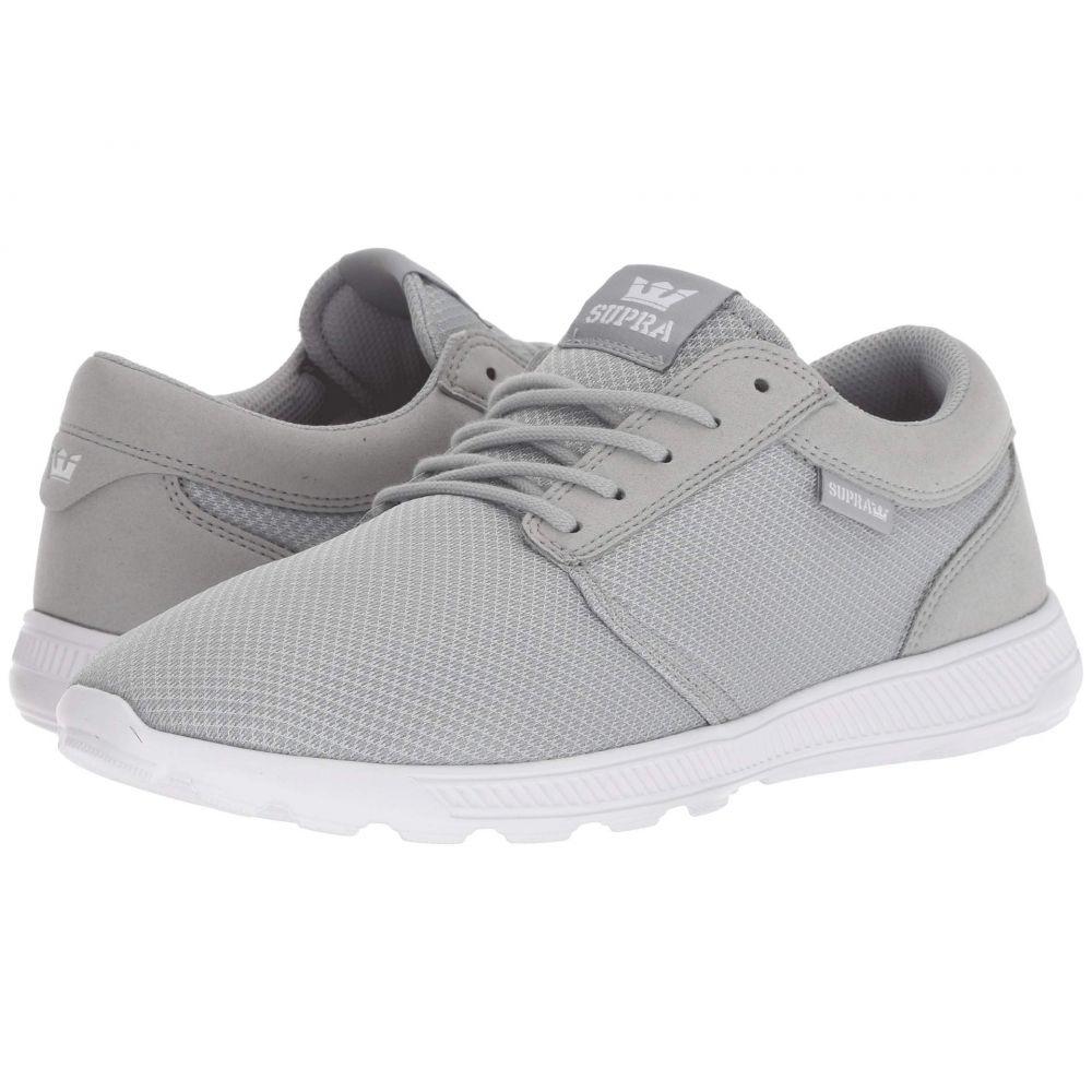 スープラ Supra メンズ シューズ・靴 スニーカー【Hammer Run】Grey/White/White