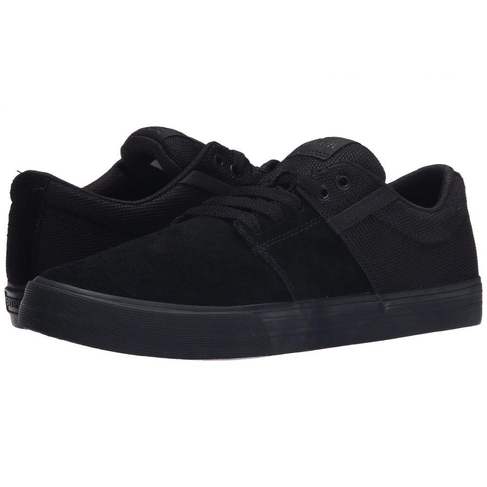 スープラ Supra メンズ シューズ・靴 スニーカー【Stacks Vulc II】Black/Black/Black 2