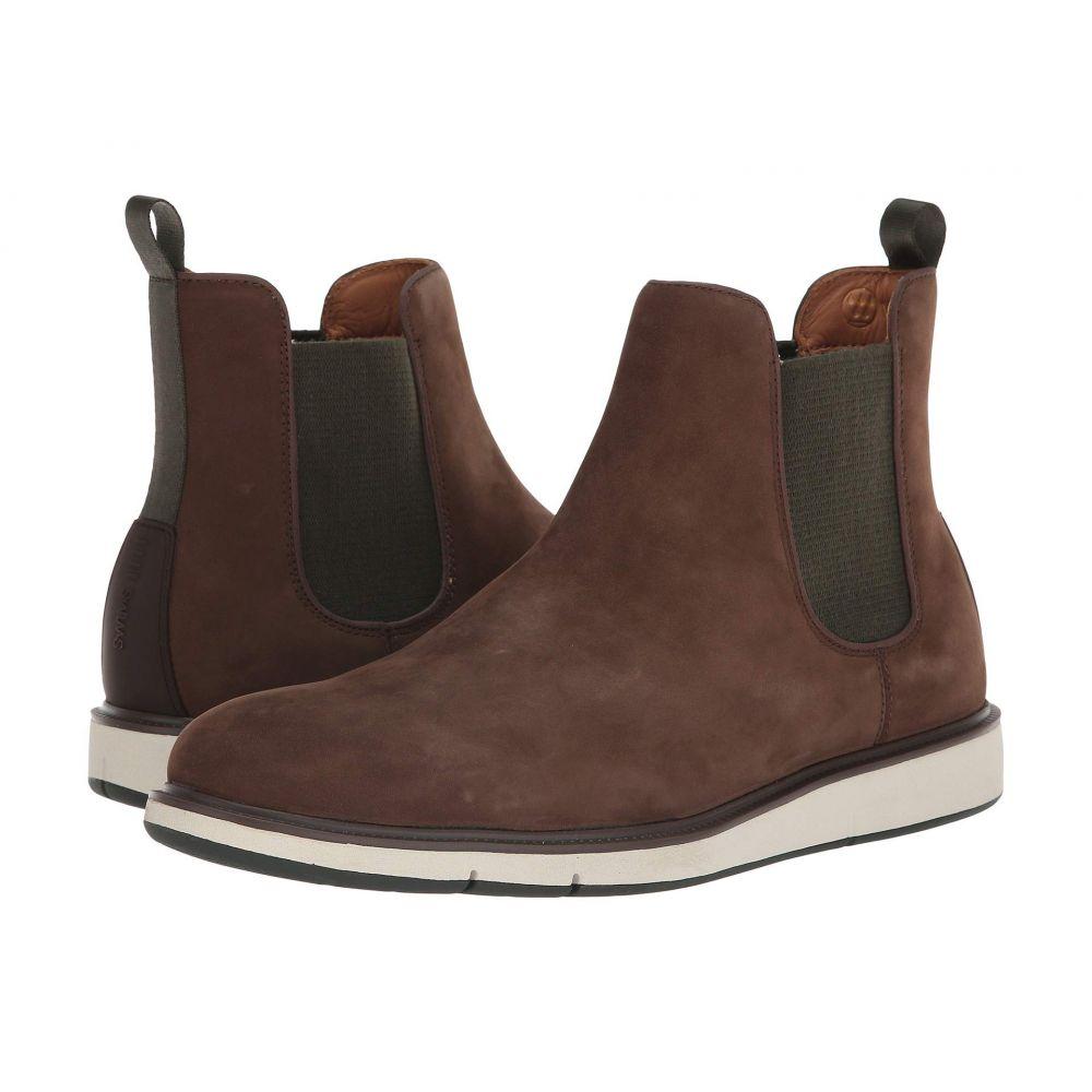スウィムス SWIMS メンズ シューズ・靴 ブーツ【Motion Chelsea】Brown/Olive