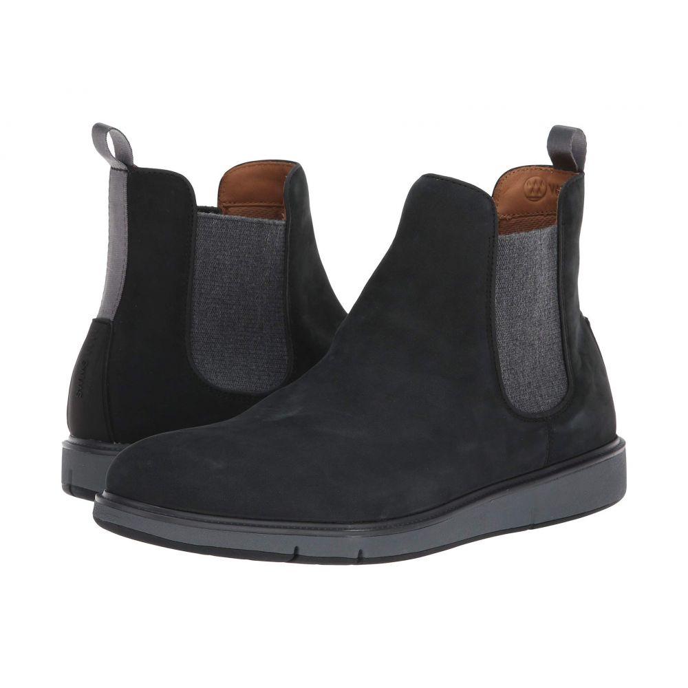 スウィムス SWIMS メンズ シューズ・靴 ブーツ【Motion Chelsea】Black/Grey