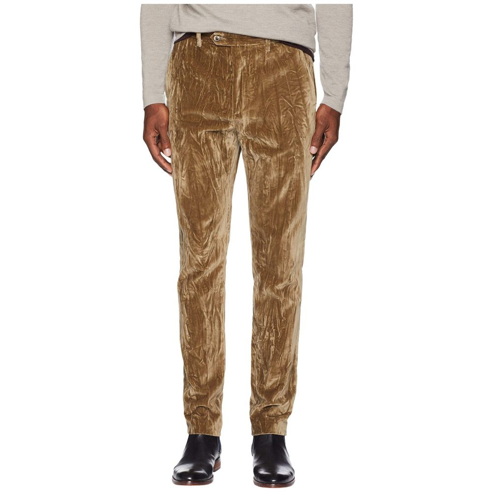 ジョン バルベイトス John Varvatos Collection メンズ ボトムス・パンツ【Regular Fit Tapered Bottom Pants P498U3】Nutmeg