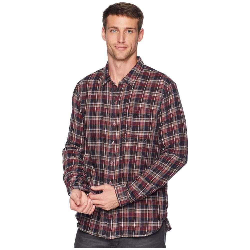 ジョン バルベイトス John Varvatos Star U.S.A. メンズ トップス シャツ【Reversible Shirt W600U3B】Rosewood