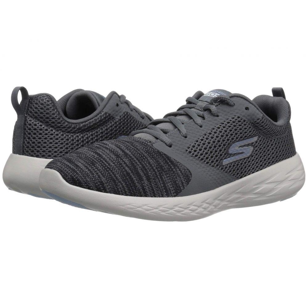 スケッチャーズ SKECHERS レディース ランニング・ウォーキング シューズ・靴【Go Run 600 15081】Charcoal/Blue