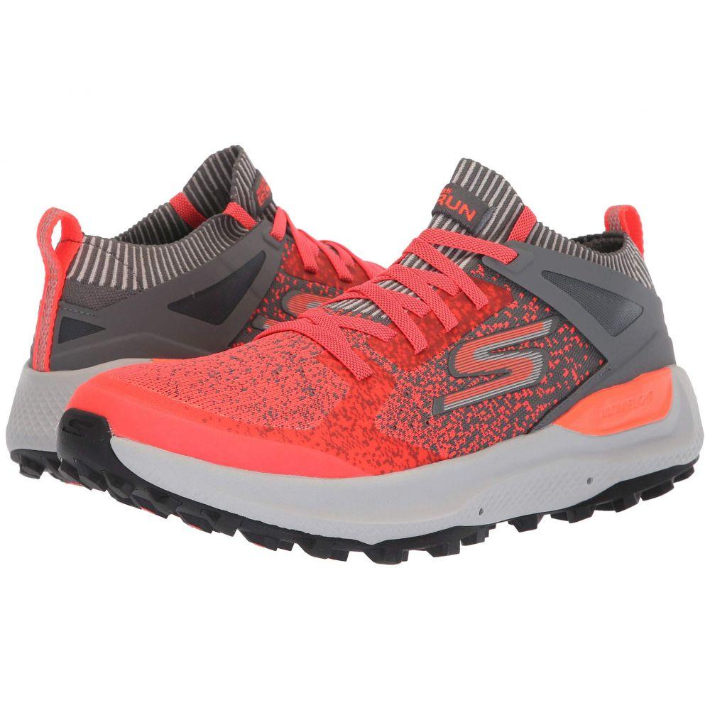 スケッチャーズ SKECHERS Performance メンズ ランニング・ウォーキング シューズ・靴【Go Run Max Trail 5 Ultra】Charcoal/Orange