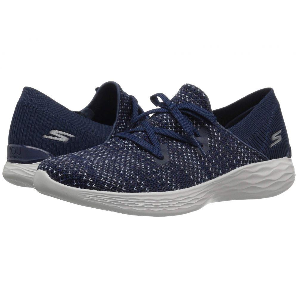 スケッチャーズ SKECHERS Performance レディース ランニング・ウォーキング シューズ・靴【You - 15807】Navy/Gray
