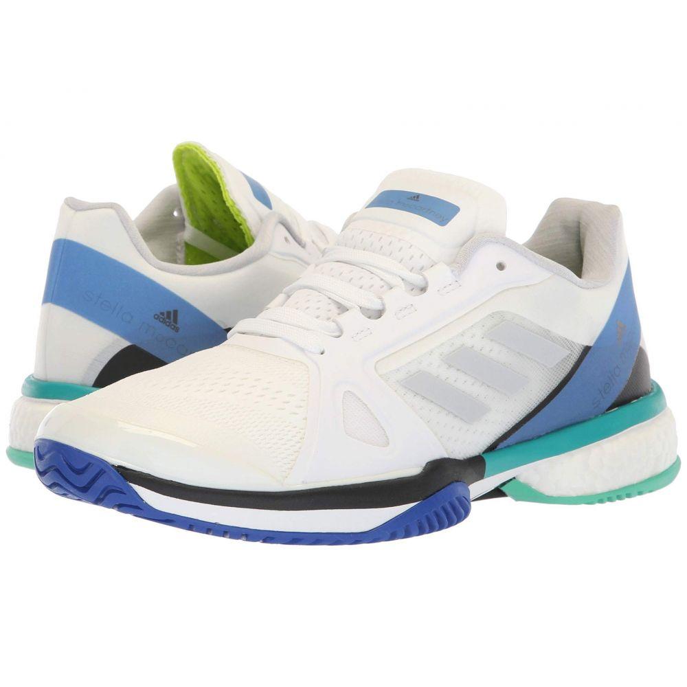 アディダス adidas レディース テニス シューズ・靴【aSMC Barricade Boost】White/Stone/Ray Blue