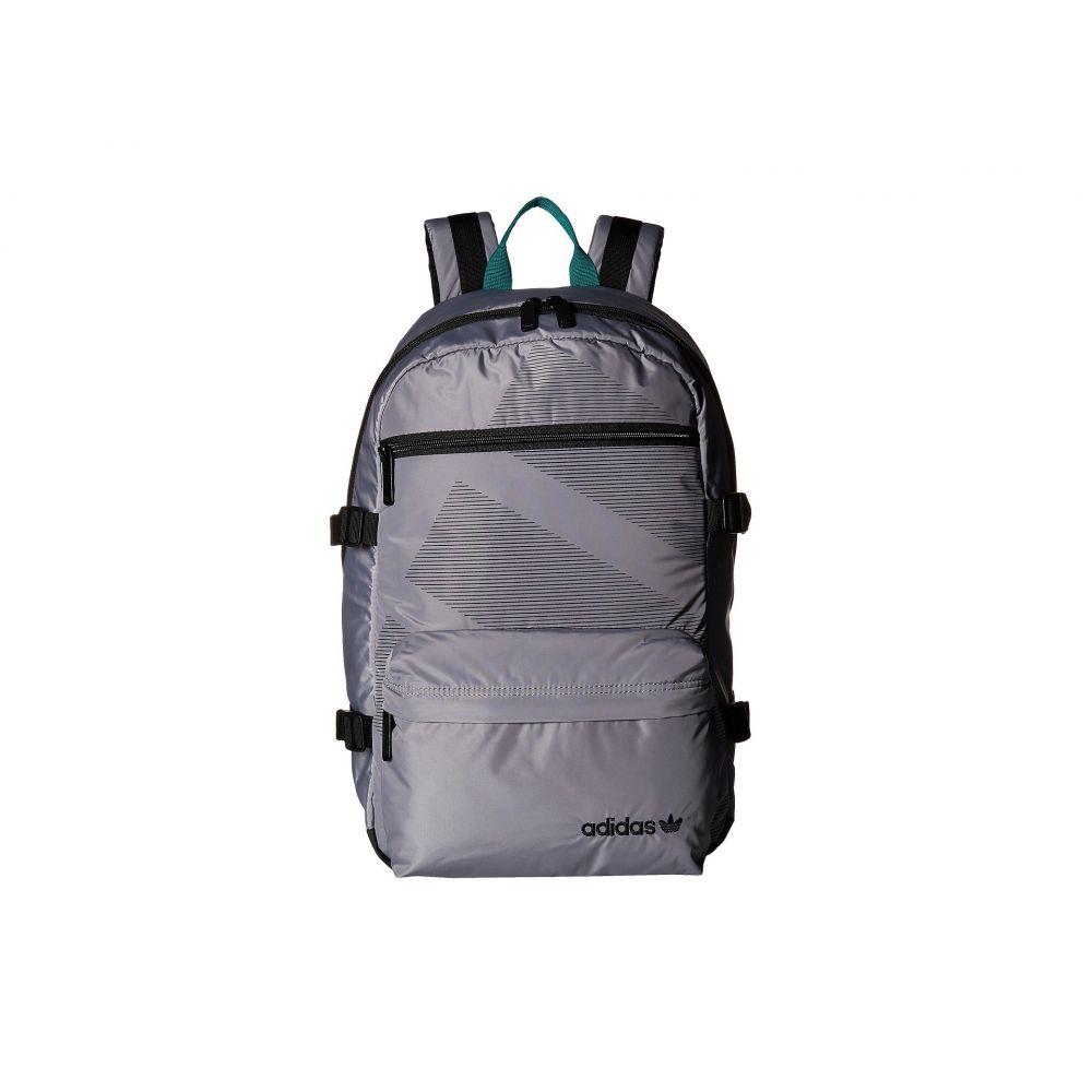 アディダス adidas Originals レディース バッグ バックパック・リュック【Originals Equipment Blocked Backpack】Grey/Black/Subdued Green