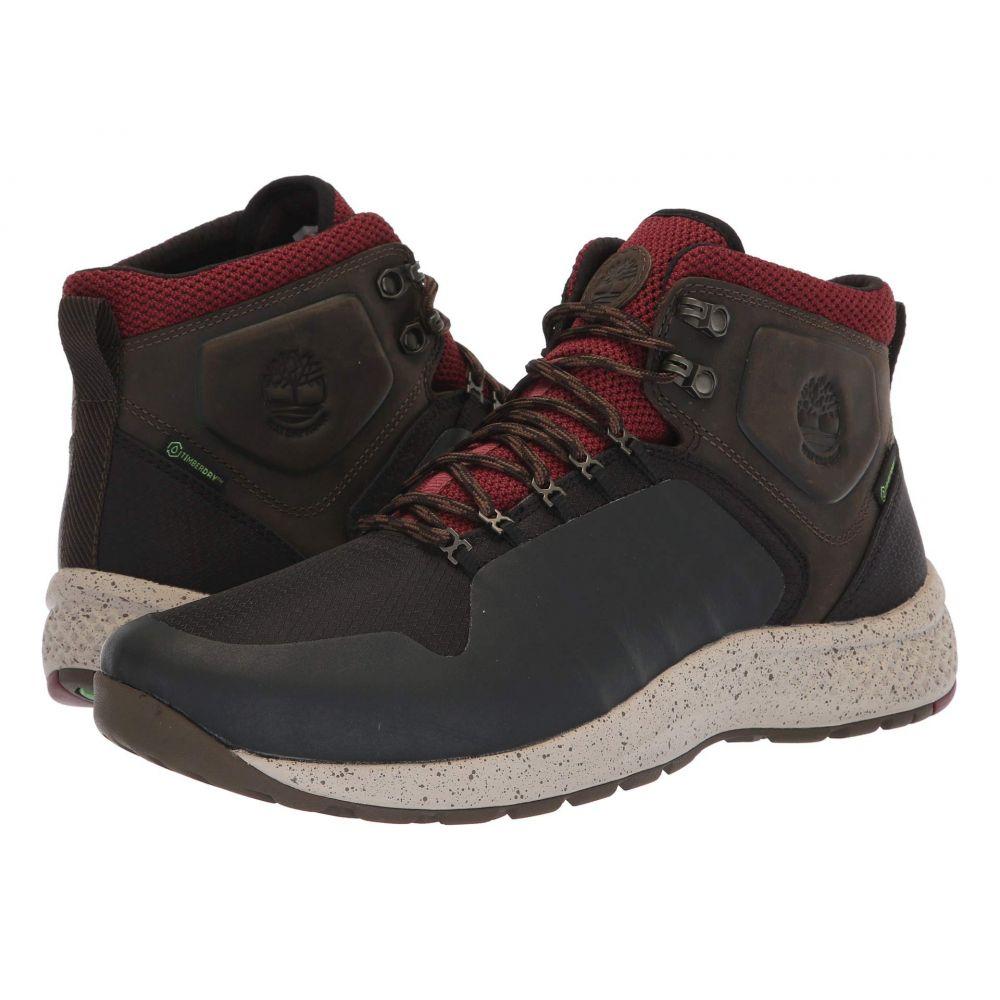 ティンバーランド Timberland メンズ ハイキング・登山 シューズ・靴【Flyroam(TM) Trail Fabric Waterproof】Black/Burgundy Full Grain