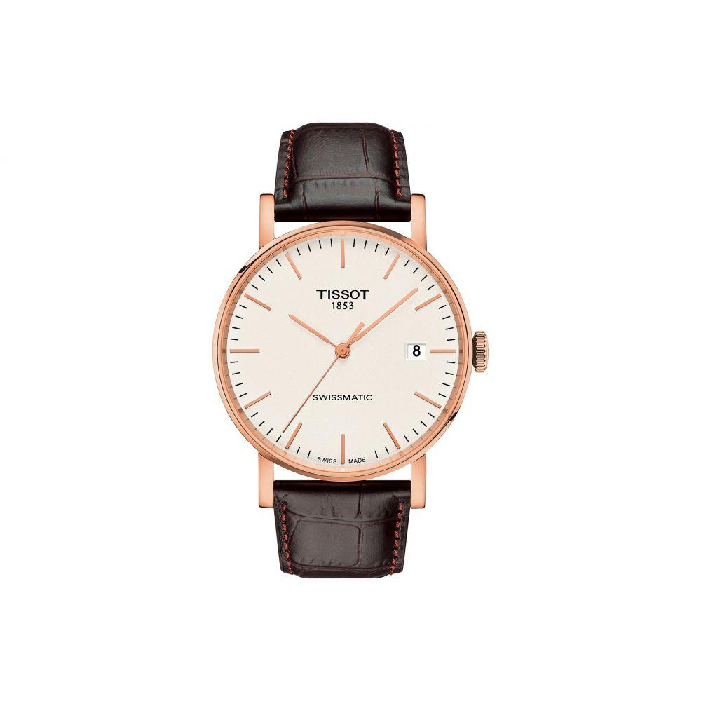 ティソ Tissot レディース 腕時計【Everytime Swissmatic - T1094073603100】Silver/Brown