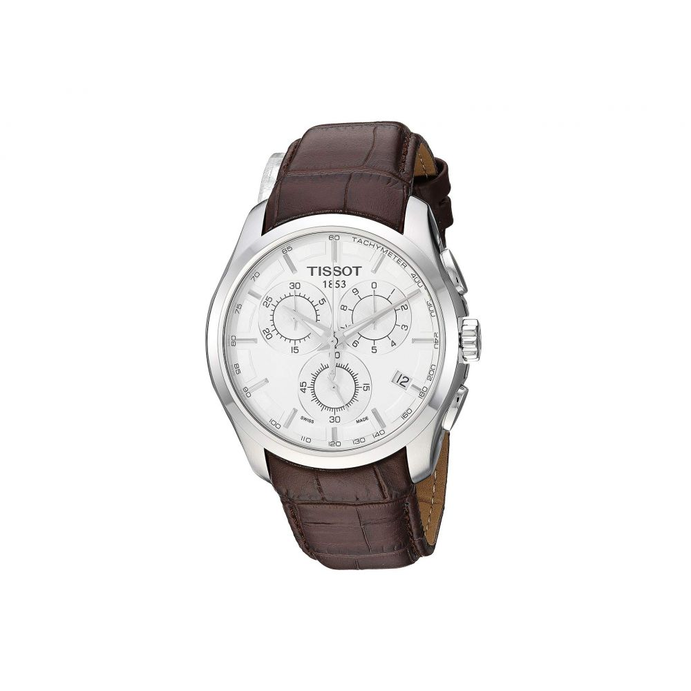 ティソ Tissot メンズ 腕時計【Couturier Chronograph - T0356171603100】Brown