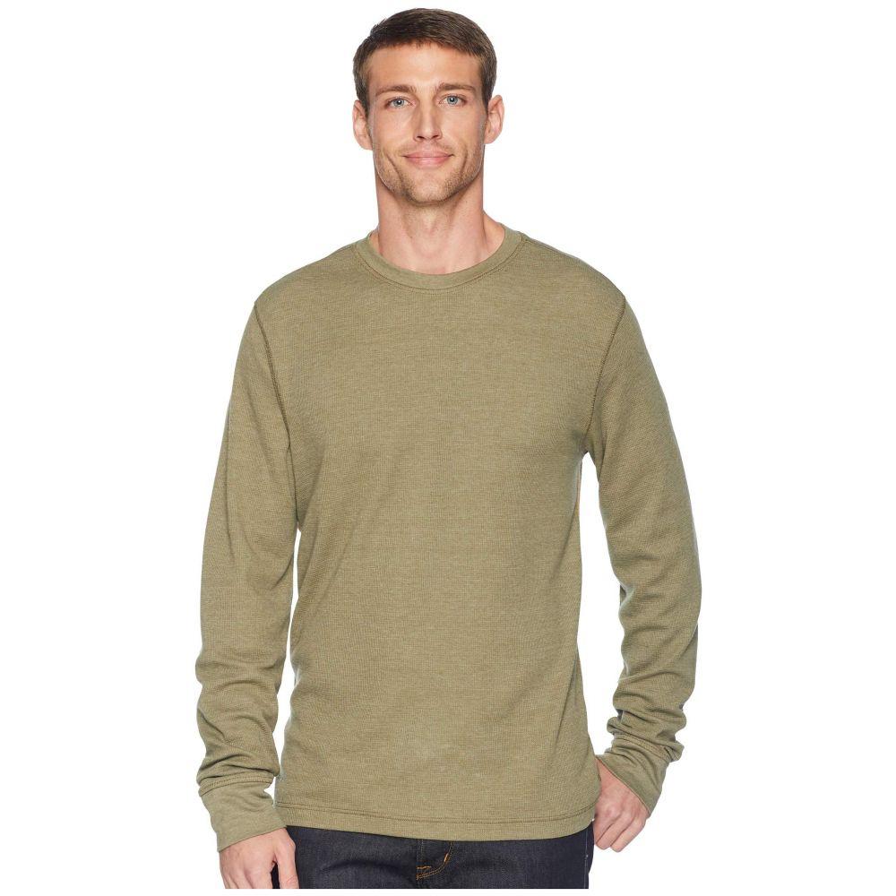 トードアンドコー Toad&Co メンズ トップス 長袖Tシャツ【Framer Long Sleeve Crew】Rustic Olive
