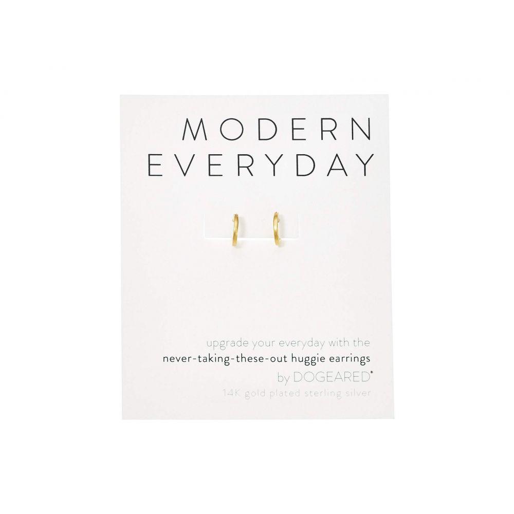 ドギャード Dogeared レディース ジュエリー・アクセサリー イヤリング・ピアス【Modern Everyday, Huggie Earrings】Gold