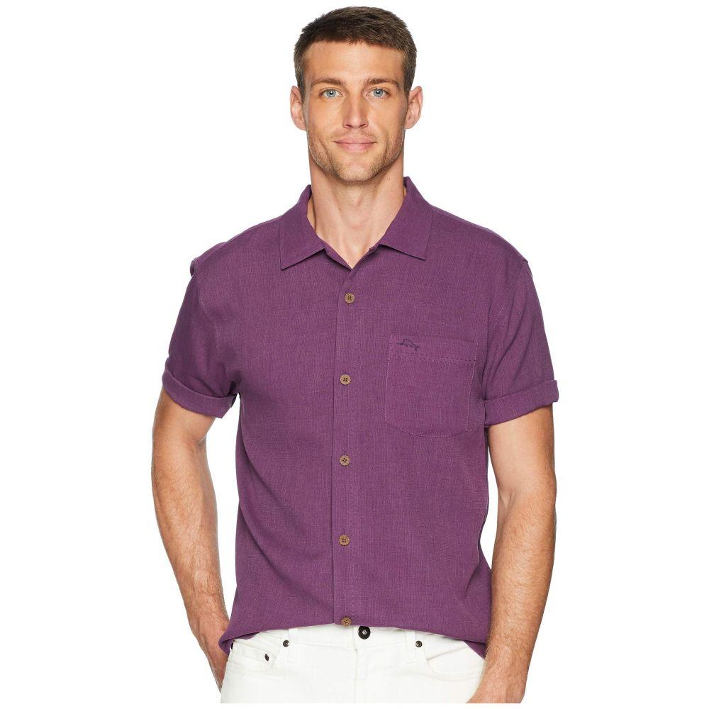 トミー バハマ Tommy Bahama メンズ トップス シャツ【Royal Bermuda Camp Shirt】Sea Thistle Purple