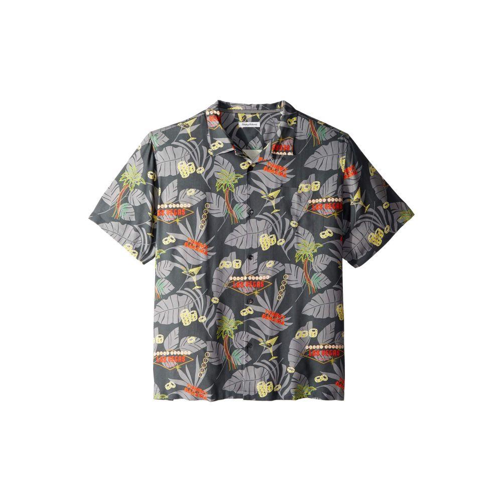 トミー バハマ Tommy Bahama メンズ トップス シャツ【Poker in Paradise Shirt】Onyx