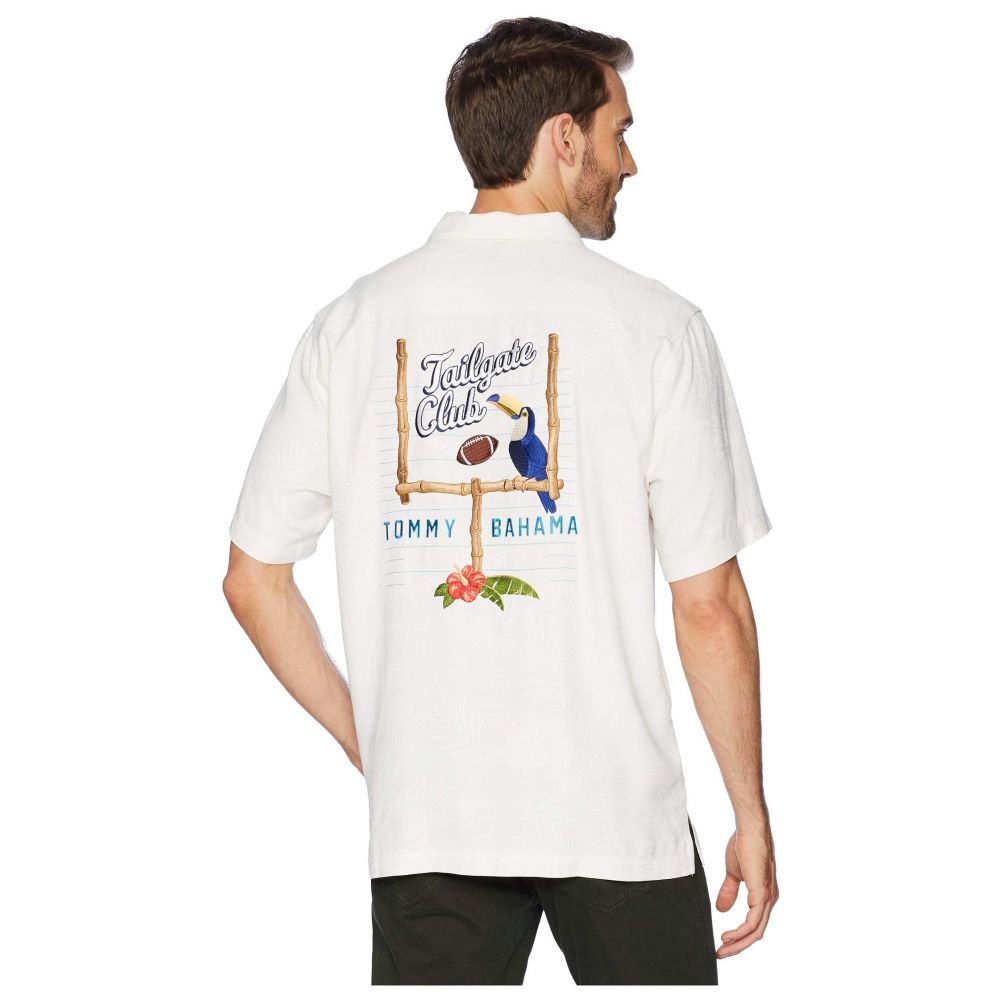 トミー バハマ Tommy Bahama メンズ トップス シャツ【Tailgate Club Embroidered Shirt】Continental