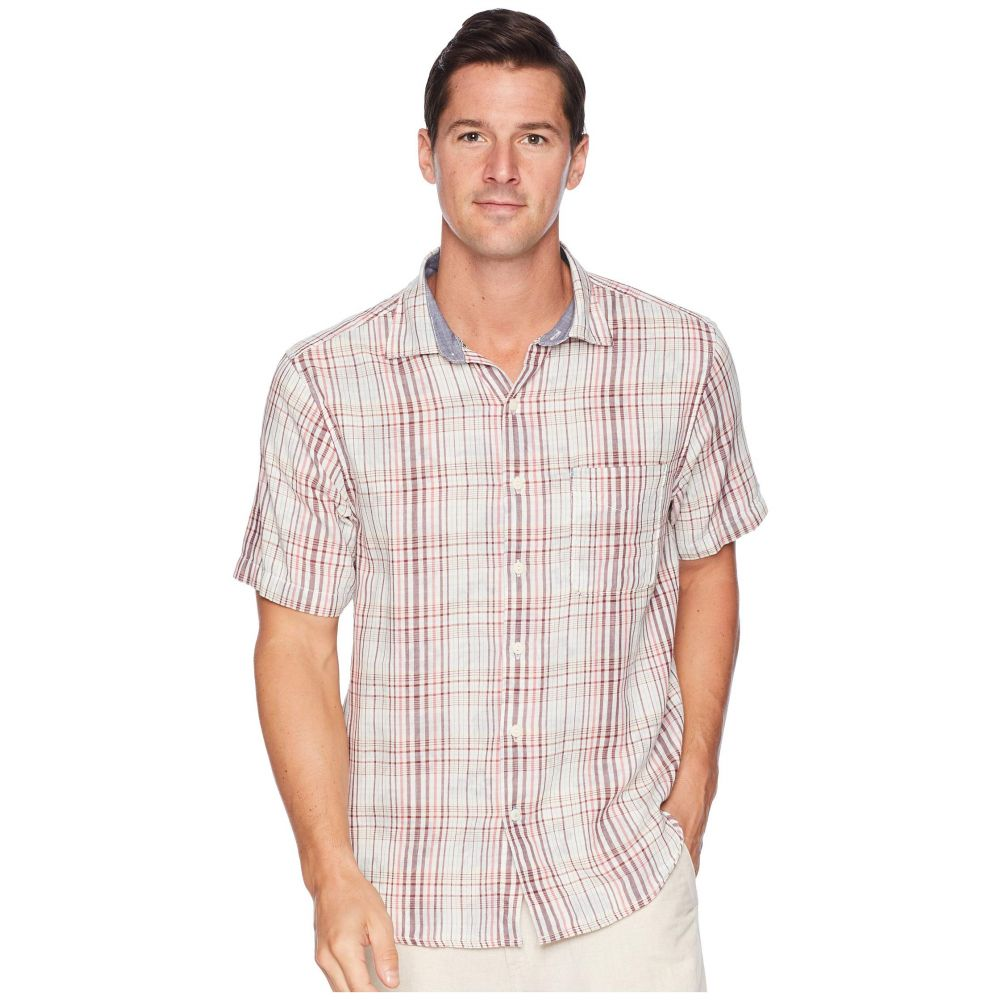 トミー バハマ Tommy Bahama メンズ トップス シャツ【Hideaway Palms Shirt】Plum Raisin
