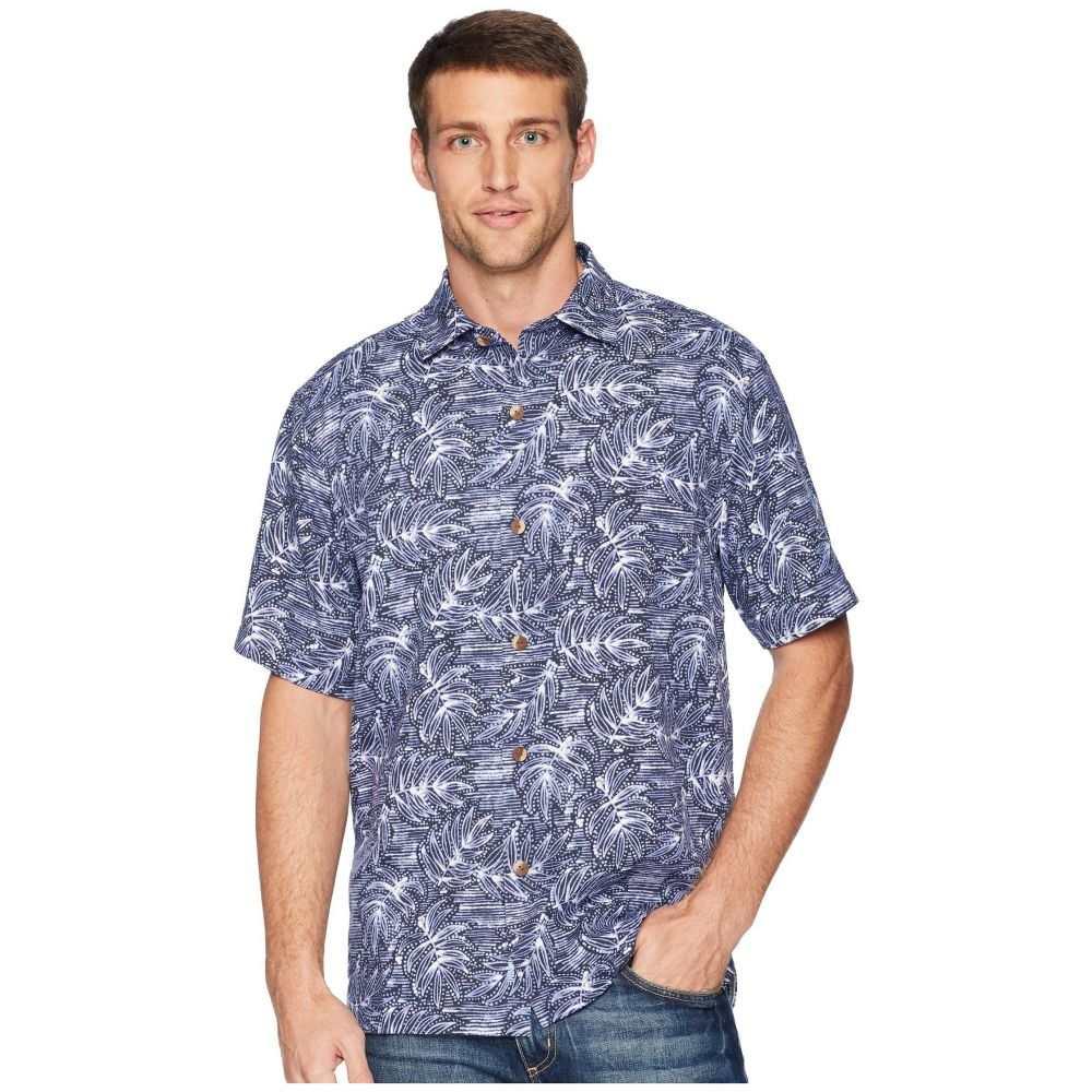 トミー バハマ Tommy Bahama メンズ トップス シャツ【Bueno Batik Shirt】Blue Jean