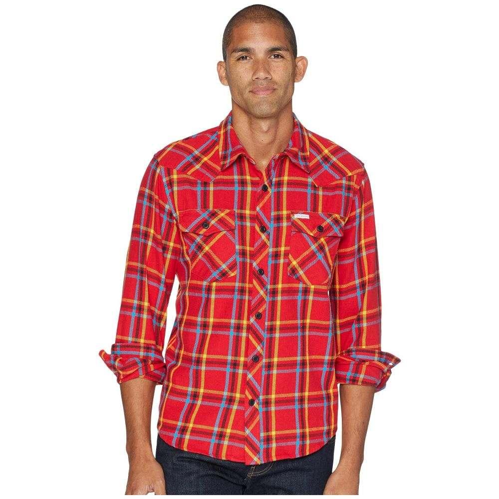 トポ デザイン Topo Designs メンズ トップス シャツ【Mountain Shirt - Plaid】Red