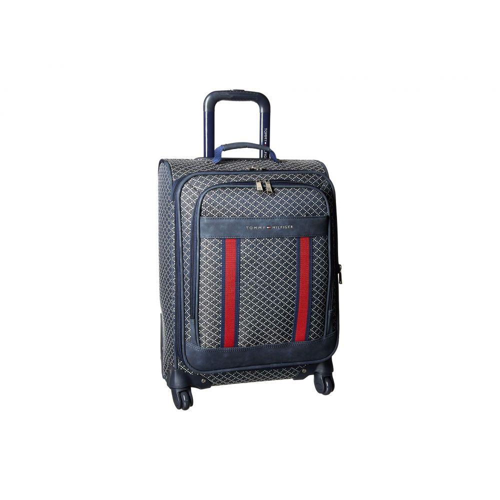 トミー ヒルフィガー Tommy Hilfiger レディース バッグ スーツケース・キャリーバッグ【Diamond Jacquard 21' Upright Suitcase】Navy