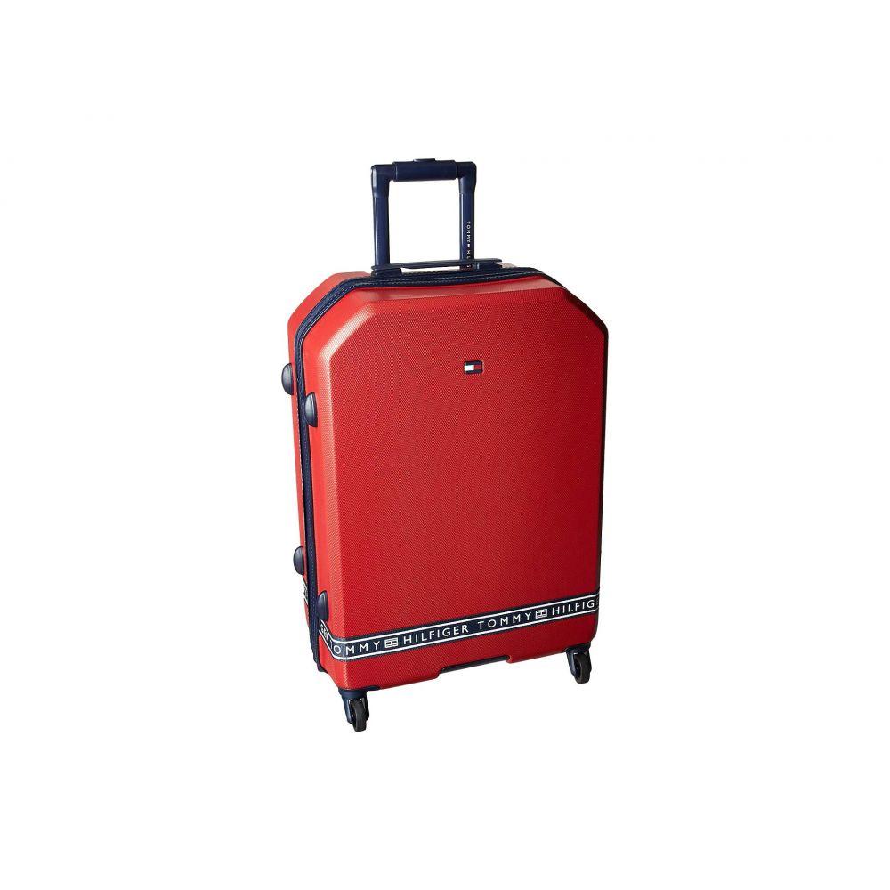 トミー ヒルフィガー Tommy Hilfiger レディース バッグ スーツケース・キャリーバッグ【25' Sneaker Sport Upright Suitcase】Red