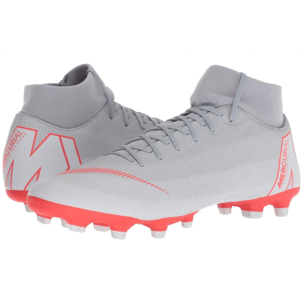ナイキ Nike メンズ サッカー シューズ・靴【Superfly 6 Academy MG】Wolf Grey/Light Crimson/Pure Platinum