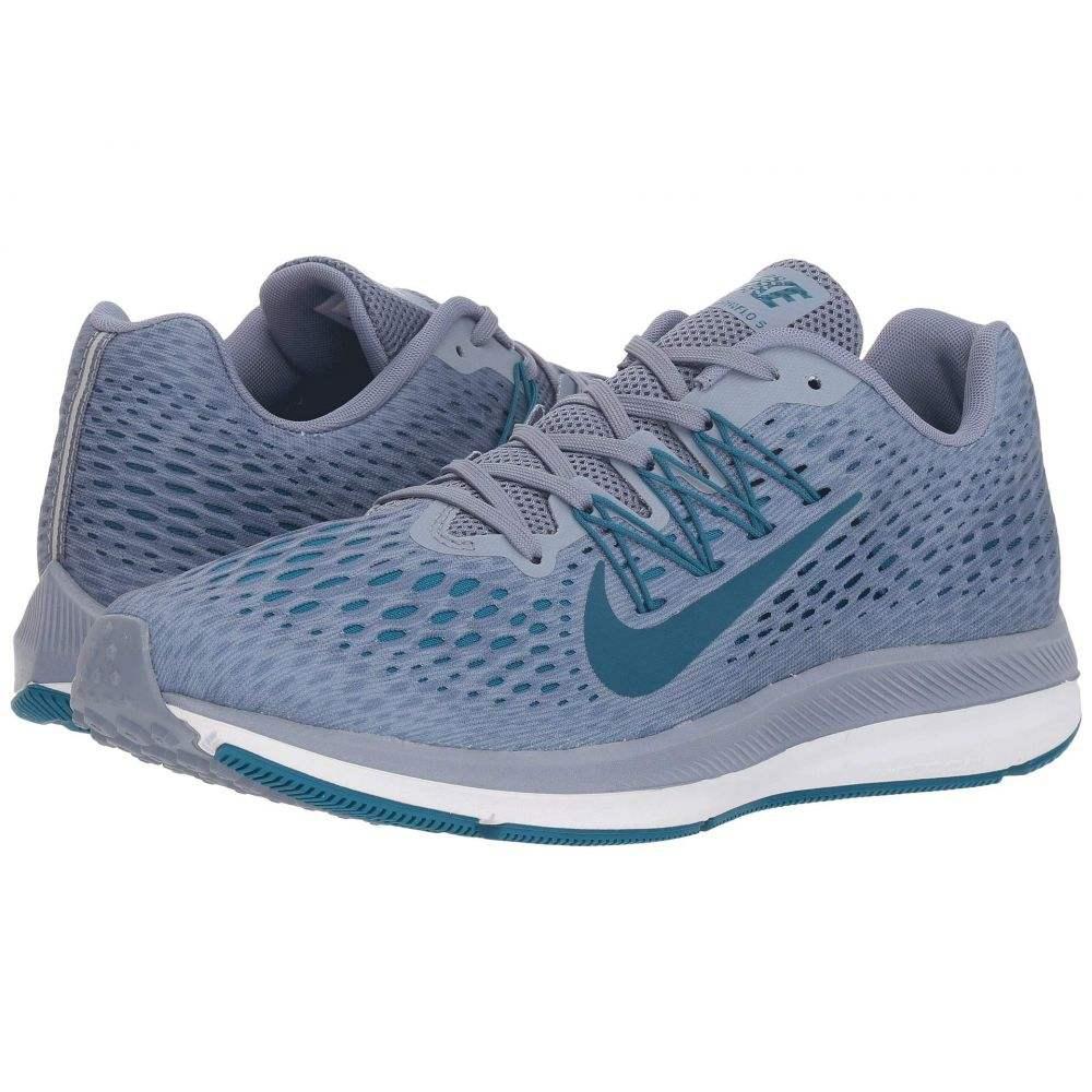 ナイキ Nike メンズ ランニング・ウォーキング シューズ・靴【Air Zoom Winflo 5】Ashen Slate/Blue Force/Green Abyss/White