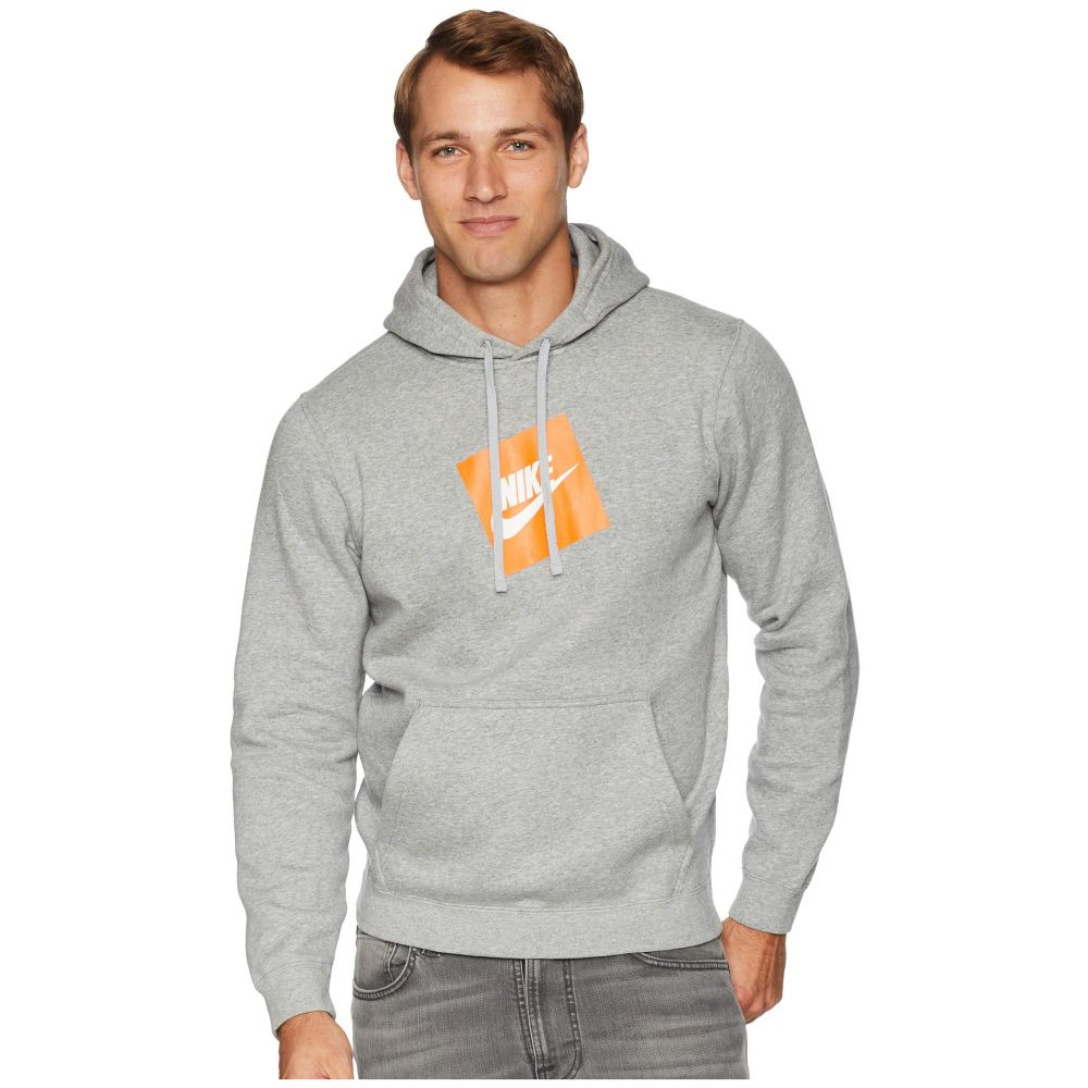 ナイキ Nike メンズ トップス フリース【NSW Hybrid Hoodie Pullover Fleece】Dark Grey Heather