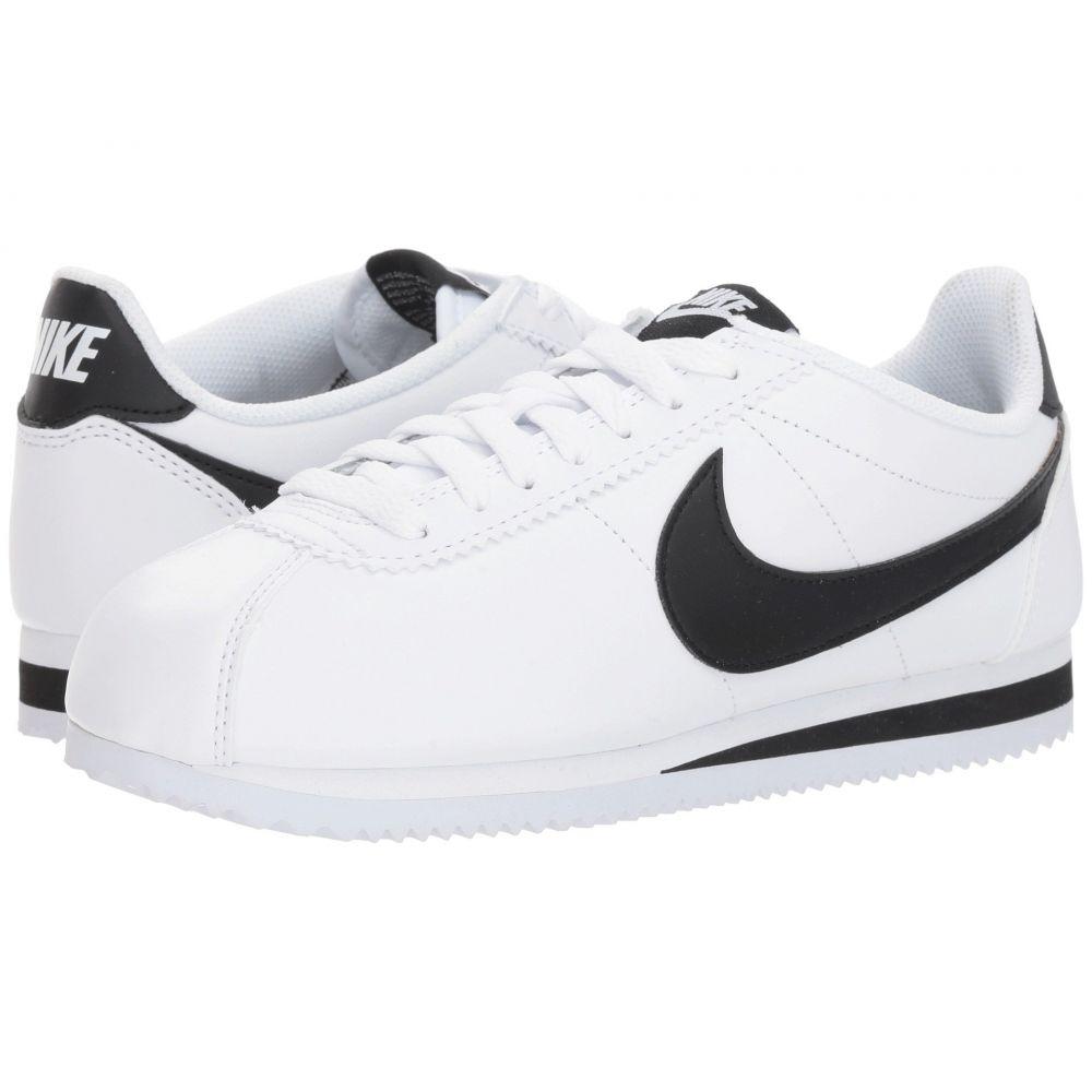 ナイキ Nike レディース シューズ・靴 スニーカー【Classic Cortez Leather】White/Black/White