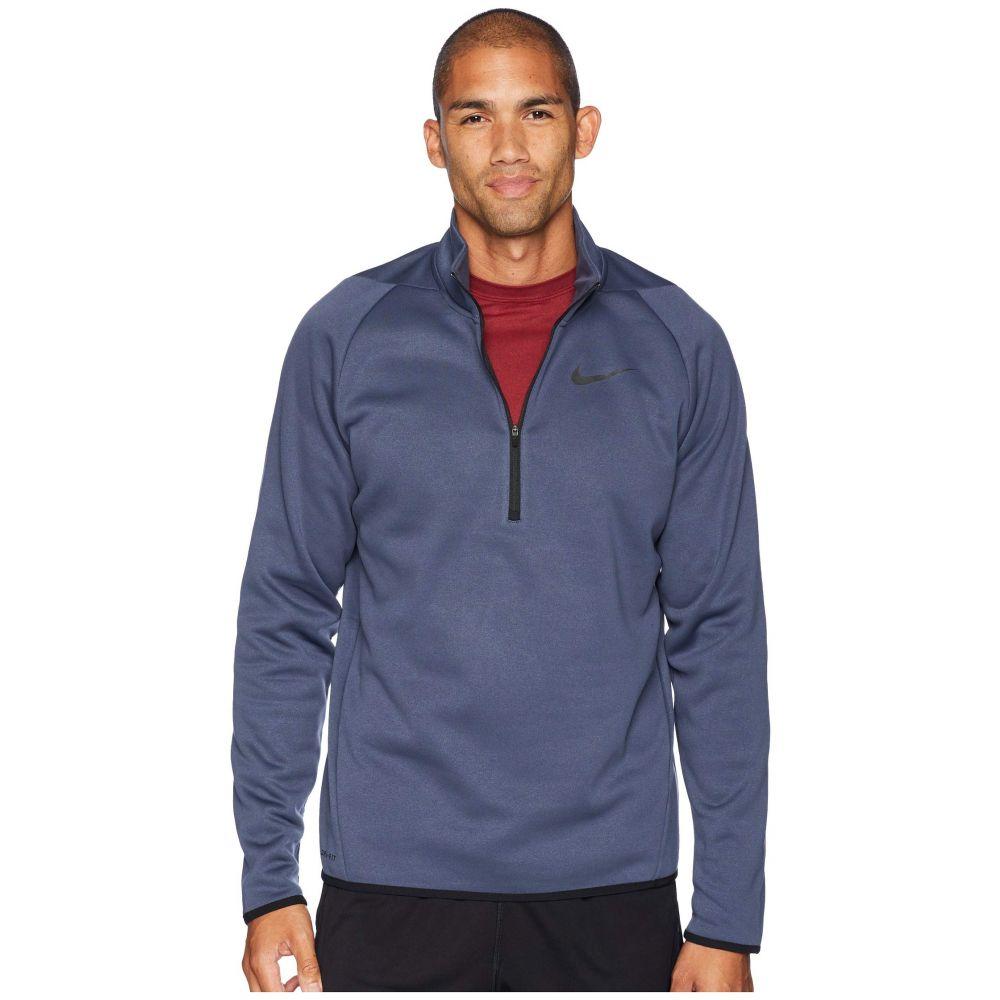ナイキ Nike メンズ トップス【Thermal Top Long Sleeve 1/4 Zip】Thunder Blue/Black