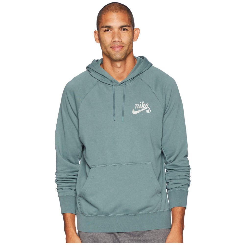 ナイキ Nike SB メンズ トップス パーカー【SB XLM Icon Hoodie】Midnight Green/Hasta/White