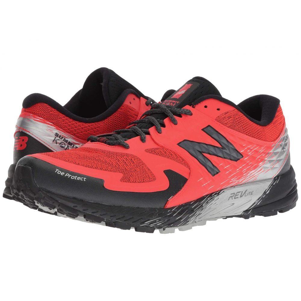 全ての ニューバランス メンズ New Balance メンズ ランニング・ウォーキング シューズ・靴【Summit New KOM】Flame/Black, はんこショップおとべ:ac96400c --- nba23.xyz