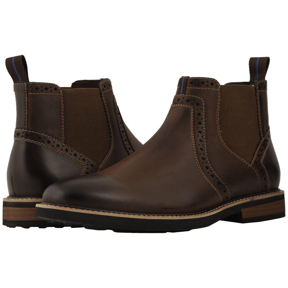 ナンブッシュ Nunn Bush メンズ シューズ・靴 ブーツ【Otis Plain Toe Chelsea Boot with KORE Walking Comfort Technology】Brown CH