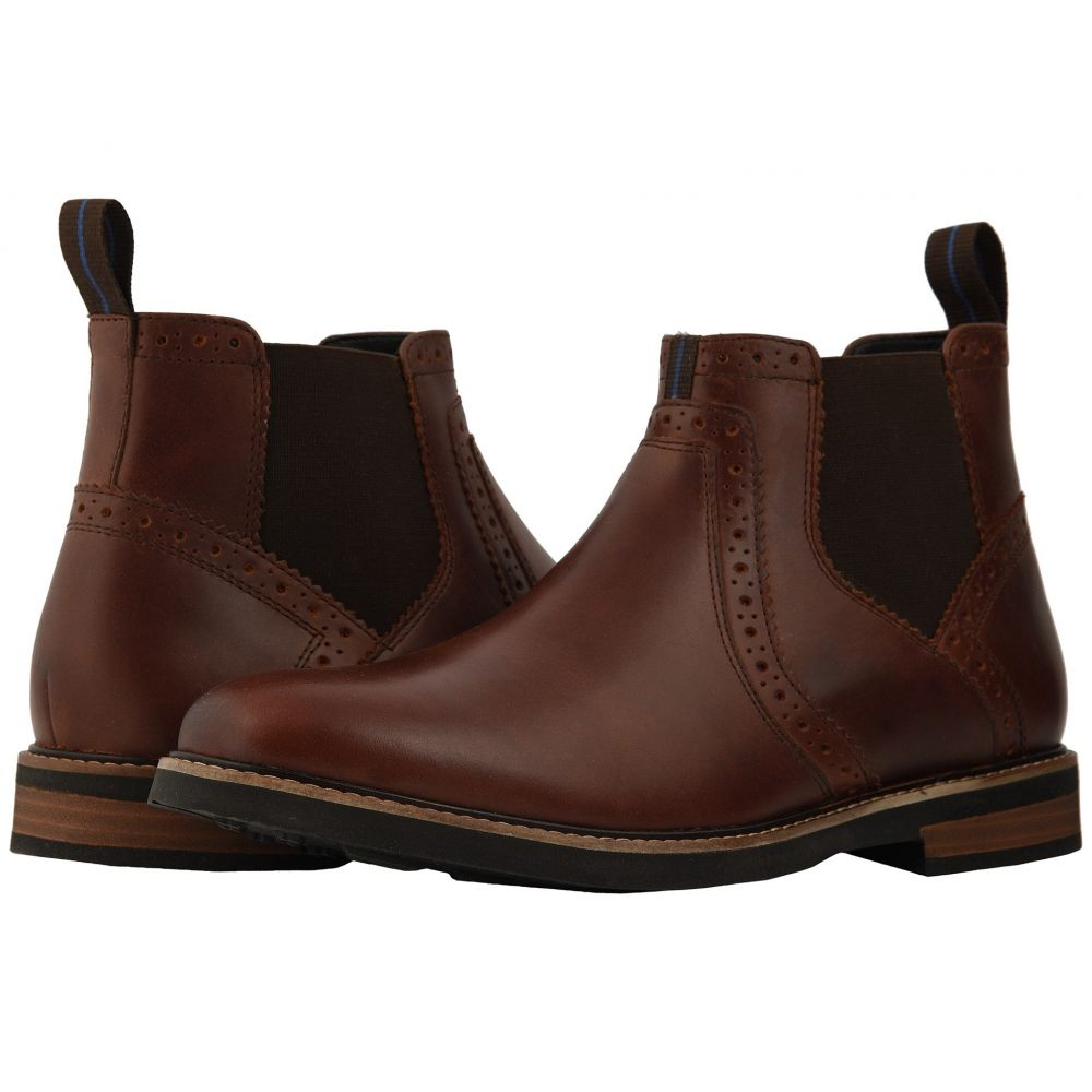 ナンブッシュ Nunn Bush メンズ シューズ・靴 ブーツ【Otis Plain Toe Chelsea Boot with KORE Walking Comfort Technology】Rust