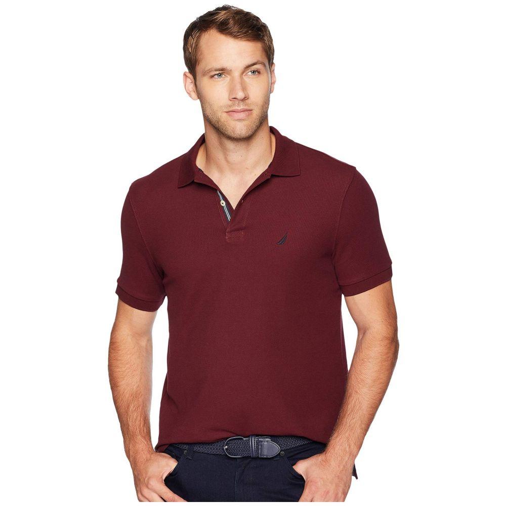 ノーティカ Nautica メンズ トップス ポロシャツ【Short Sleeve Solid Deck Shirt】Royal Burgundy