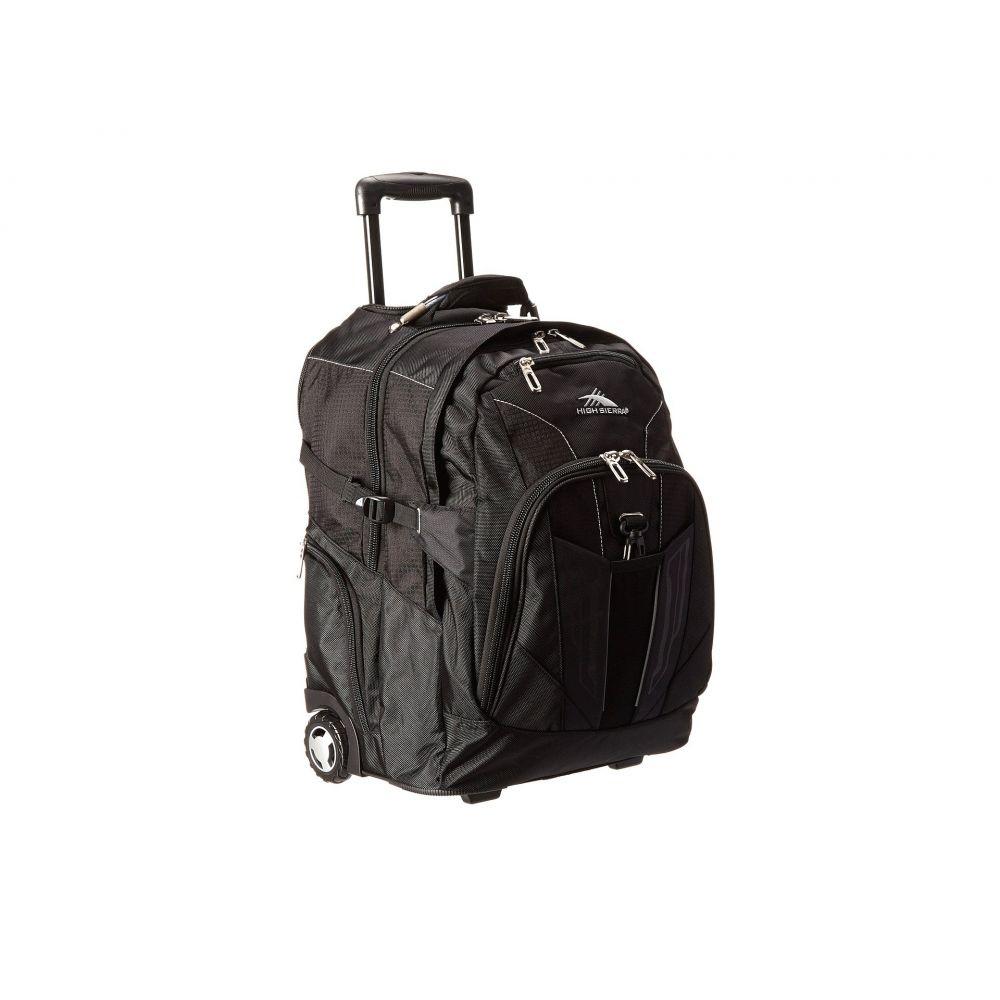 ハイシエラ High Sierra レディース バッグ スーツケース・キャリーバッグ【XBT - Wheeled Backpack】Black