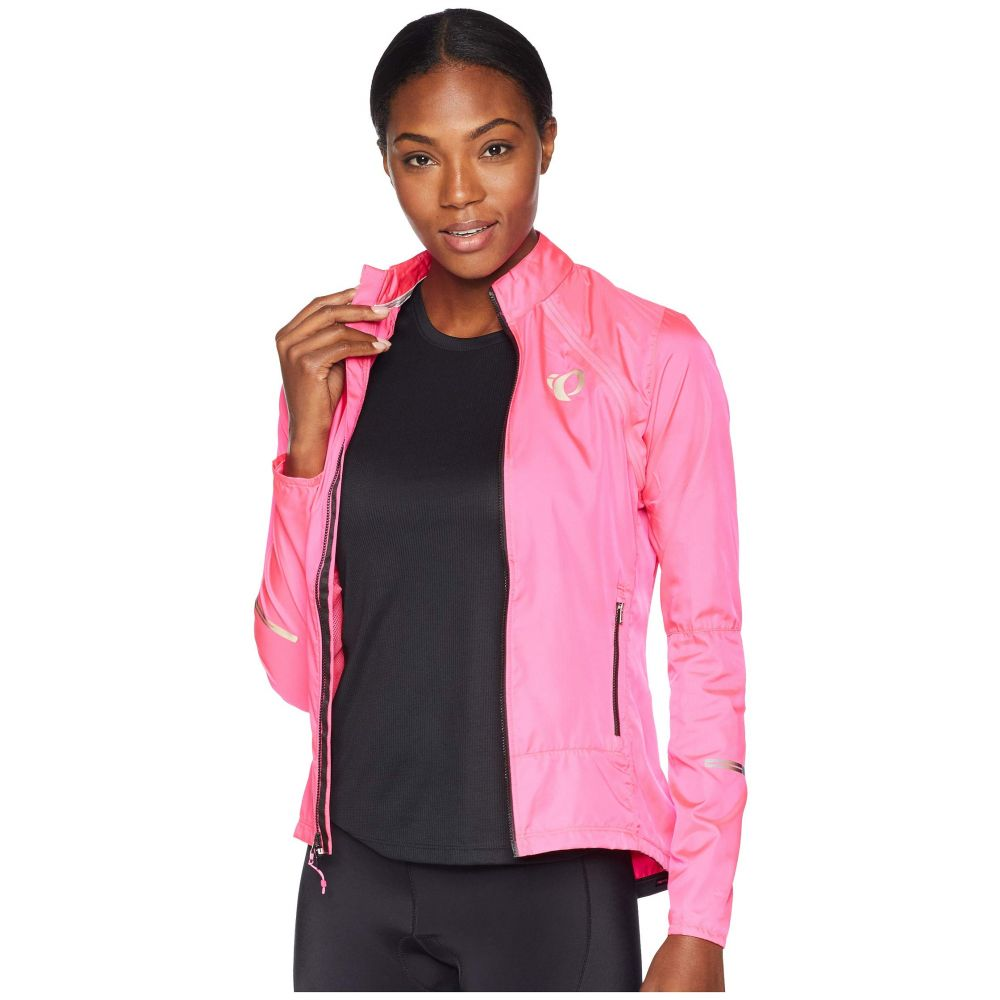 パールイズミ Pearl Izumi レディース 自転車 アウター【W ELITE Barrier Convertible Cycling Jacket】Screaming Pink